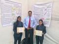 Avishkar Participants Miss. Anjali & Miss. Himani with Dr. Rajesh Pandey