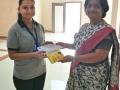 Miss. Rajvi Desai Sem III 2017-18 Topper